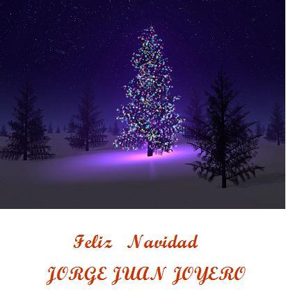 Jorge Juan Joyero os desea una Feliz Navidad
