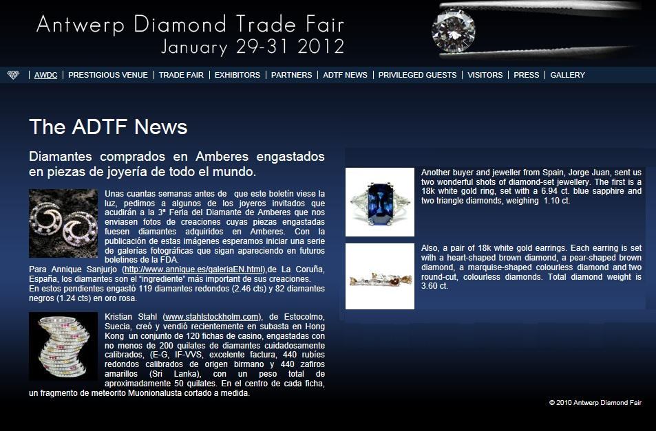 ANTWERP DIAMONDS TRADE FAIR