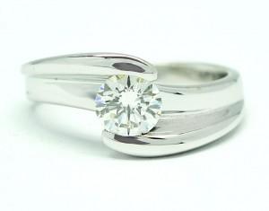 Anillo Diamante 0,50 ktes
