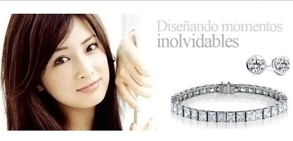 Joyas de diamantes en Oro Blanco