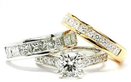 Anillos de Pedida Diamantes
