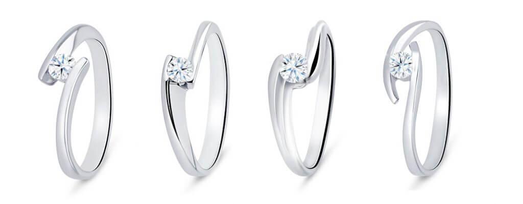 anillos modernos más vendidos