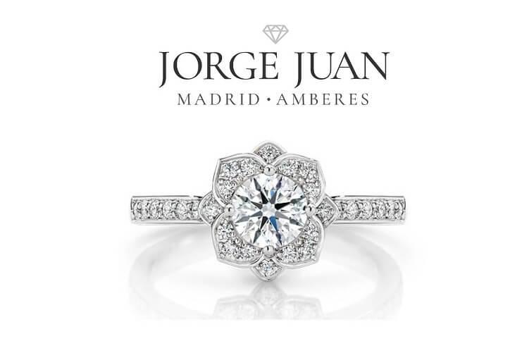 oro blanco en las joyas de novia