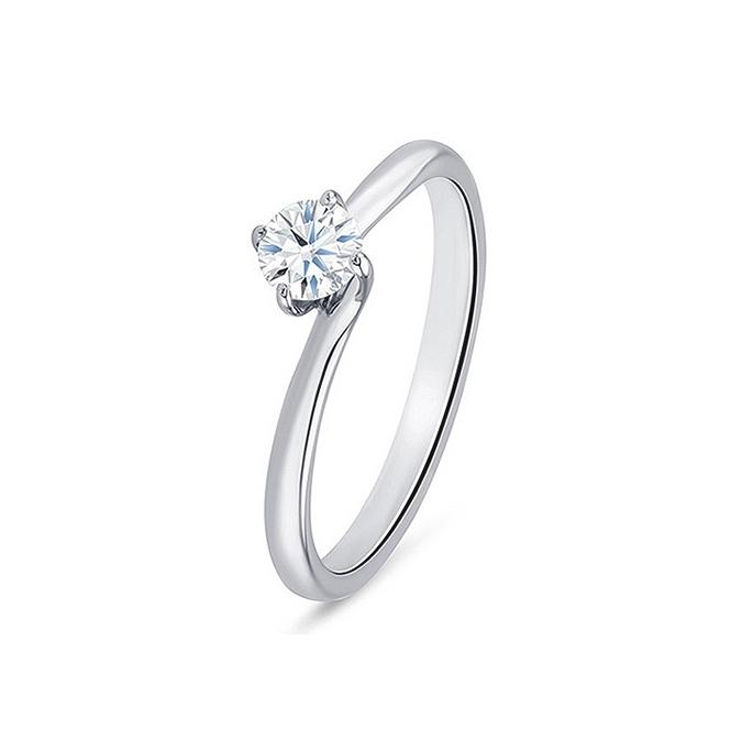 """Anillo """"ArbahStyle"""" Oro blanco de 18K y Diamante"""