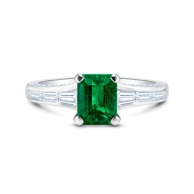 Anillo de Esmeralda Colombiana Green Luxury - SR 99 ESM