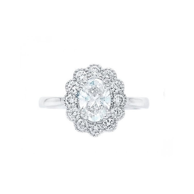 Anillo Diamante Oval OSAKA - SR 73