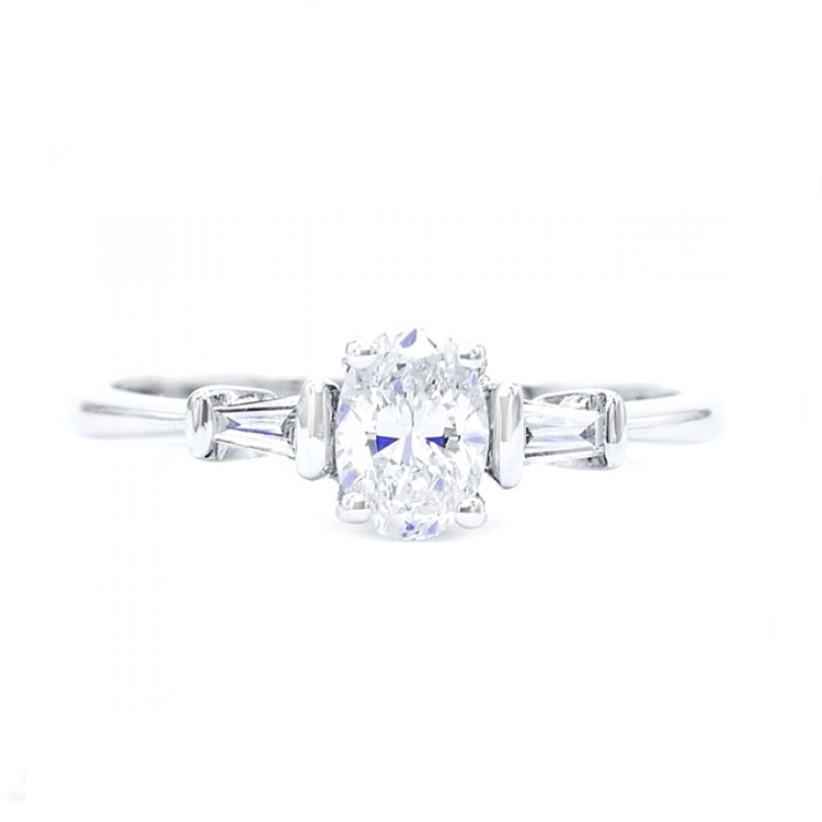 Anillo Diamante Oval FLORIDA - SC 298