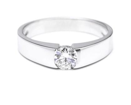 Sortija de Diamante Oro Blanco ZEN - SC 115