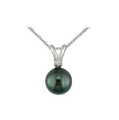 Colgante Diamante Perla Tahiti - CC 25/4