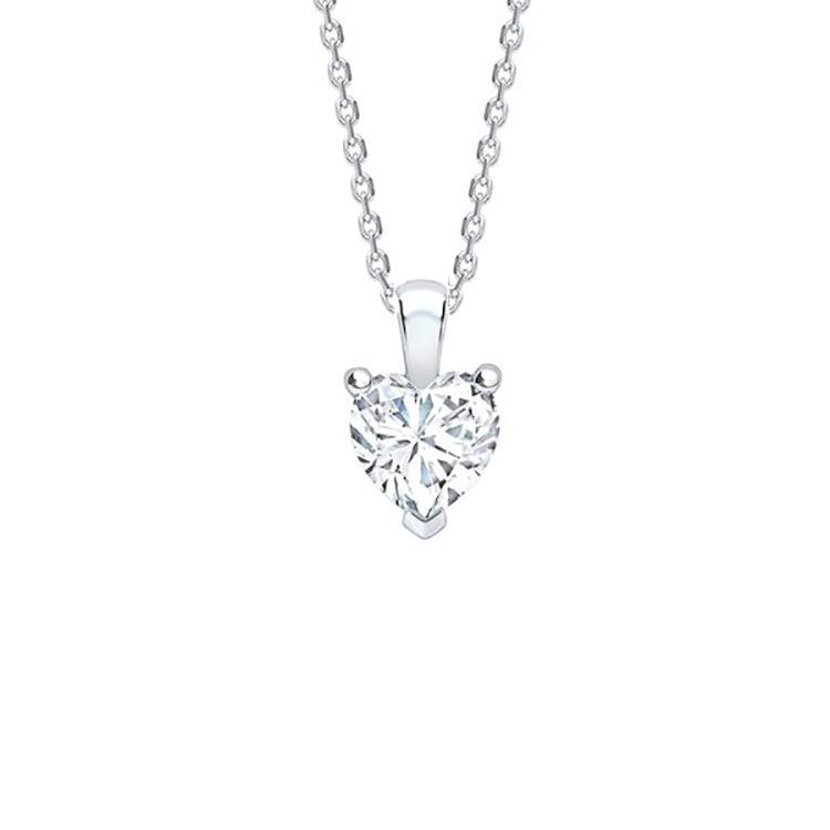 Colgante con Diamante Corazón- CCE 1