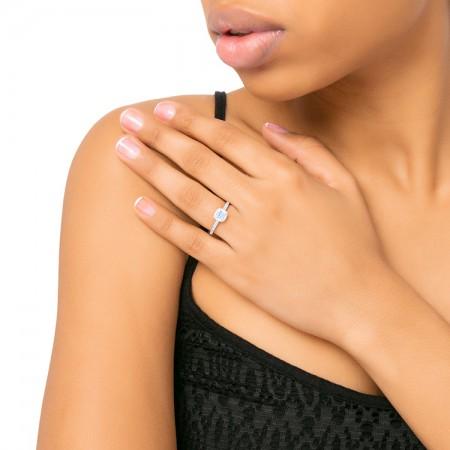 anillo de diamantes mano princess KYOTO SR 2