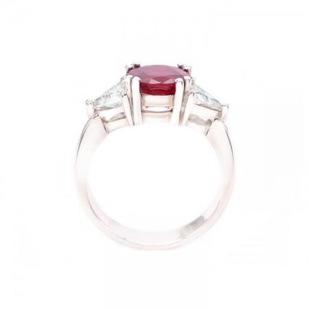 anillos de rubi con diamantes 4