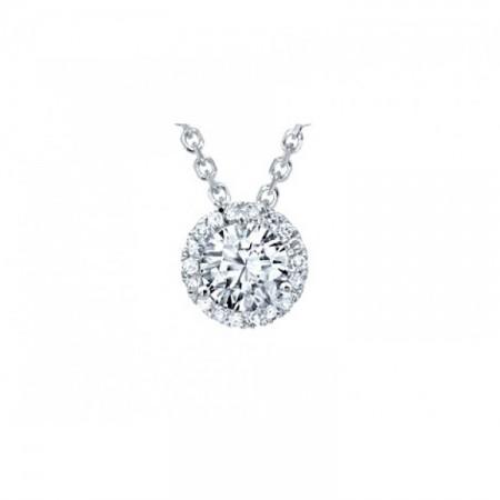 colgante con diamantes gardenia