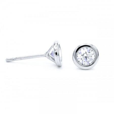 pendientes diamantes pequeños