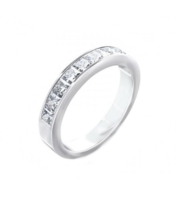 Alianza con Diamantes Talla Princesa - SC 117