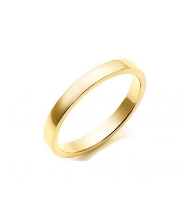 Alianza Plana Matrimonio Oro Amarillo - 2mm C1