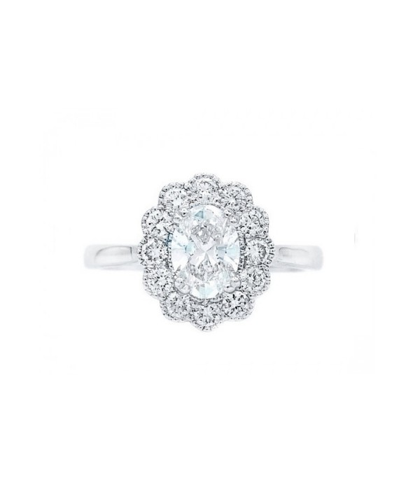 Anillo Diamante Oval OSAKA -SRC 5