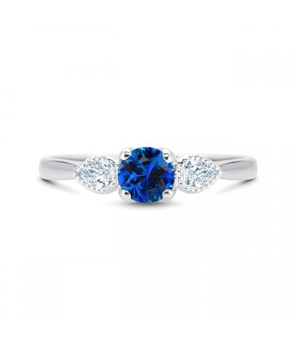 Anillo zafiro Ceylan Diamantes BLUE MAGIC SRC 44 ZAF