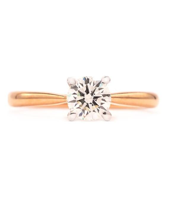 Anillo Diamante Oro Rosa VERONA - SRR 20/5