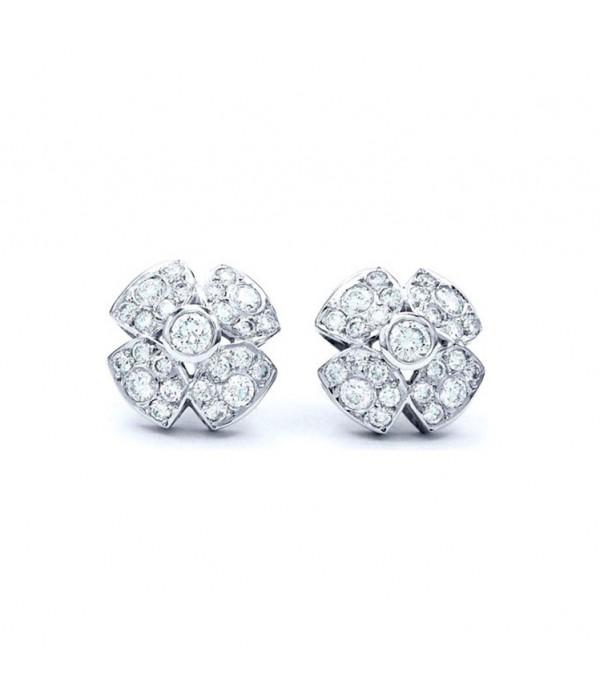 Pendientes de Diamantes con forma de Bouclier - PM 39