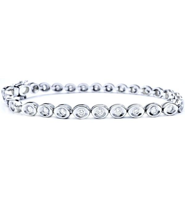 Pulsera Chatones Diamantes - RI 23
