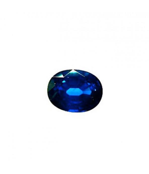 Zafiro Oval Azul -  Z 69 - 1,96