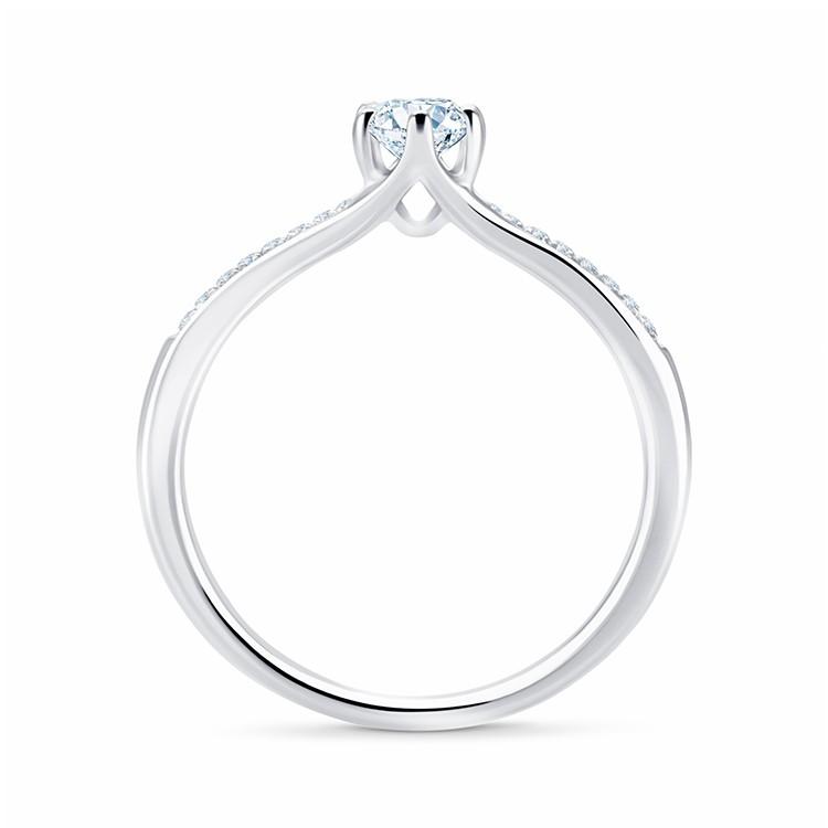 """Anillo """"Sydney"""" oro 18k y diamantes"""