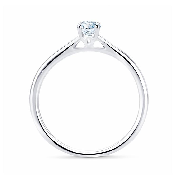 """Anillo """"OvalStyle"""" Oro 18k y Diamante 0.30 cts"""