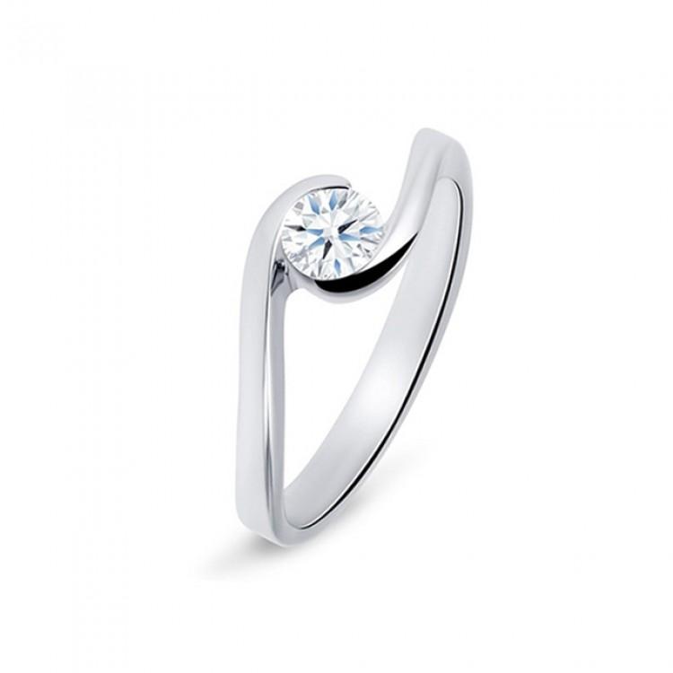 """Anillo """"Umi"""" Oro 18k y diamante"""