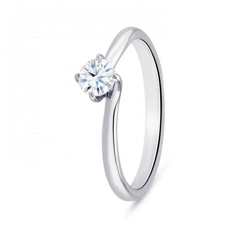 Anillo Clásico Platino Diamante ARBA-PT SR 11