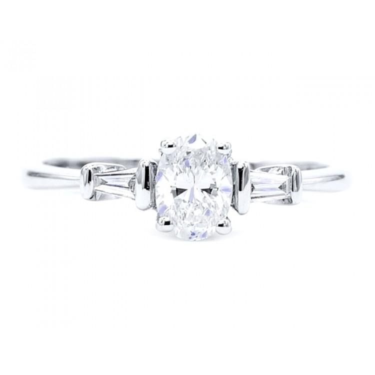 Anillo Diamante Oval FLORIDA - SC 298
