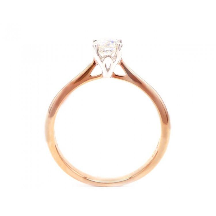 Anillo Diamante Oro Rosa VERONA - SRR 20