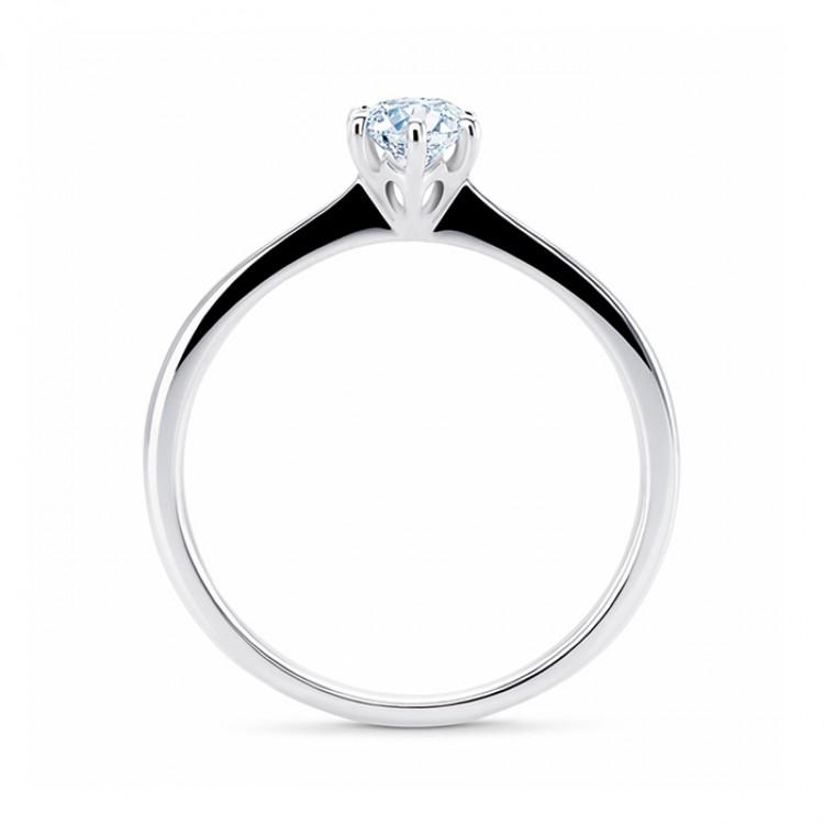 Anillo Platino 950 Diamante Florencia - SR 14 PT