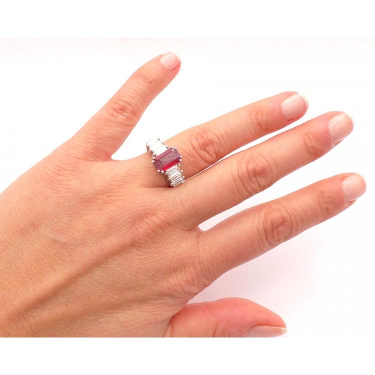 Anillo Rubí Purity - SG 21