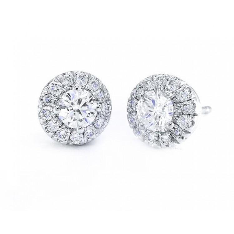 Pendientes con Diamantes Gardenia - PG 33