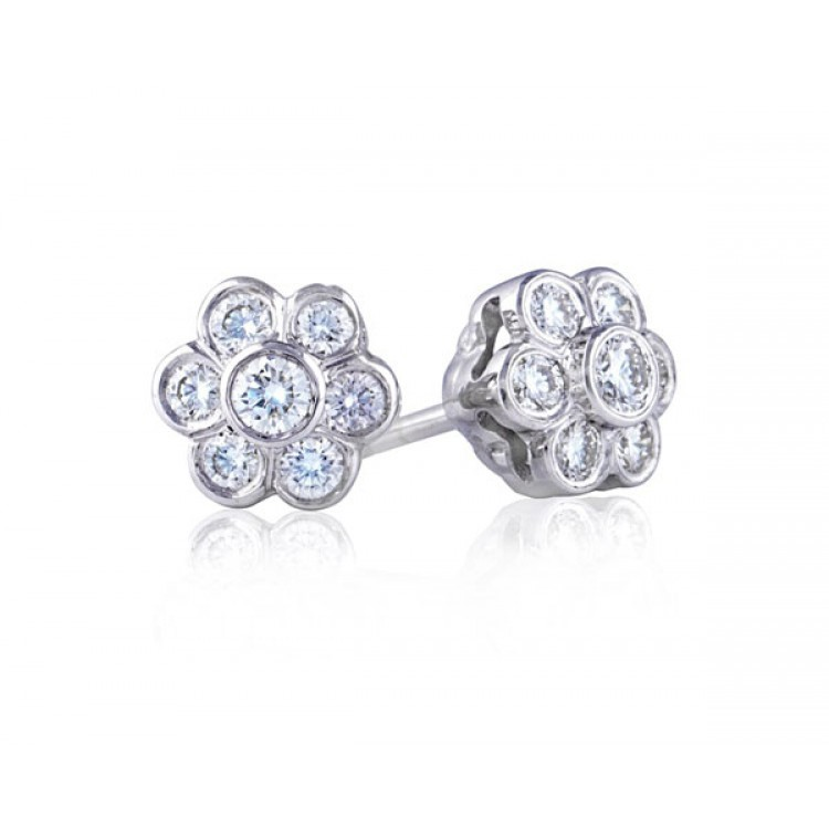Pendientes Brillantes Novia - PM RE