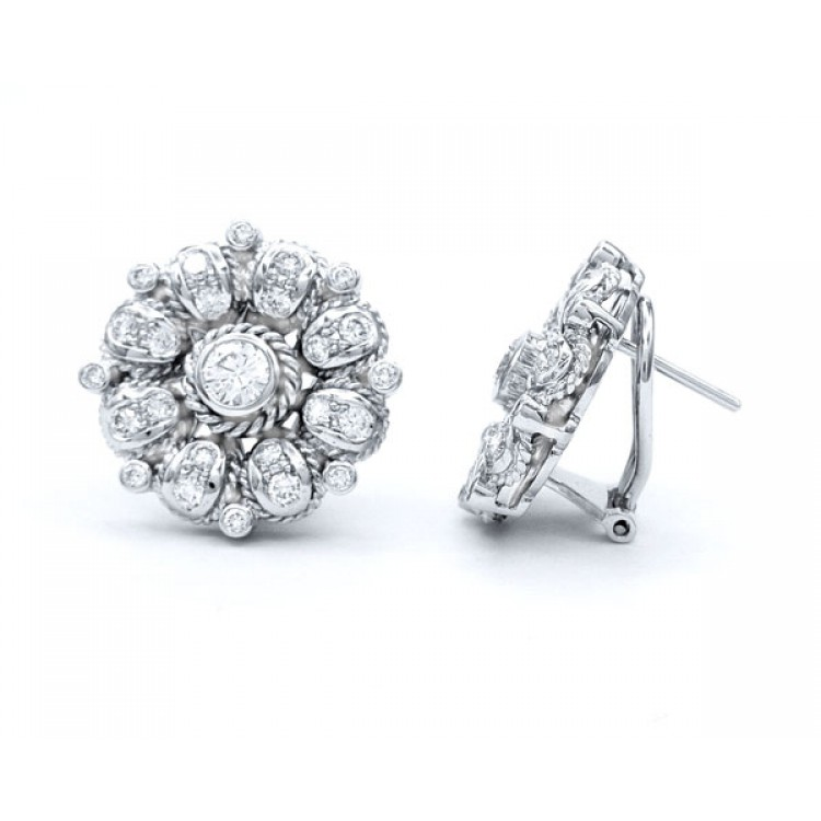 Pendientes de Diamante Daisy - PC 17