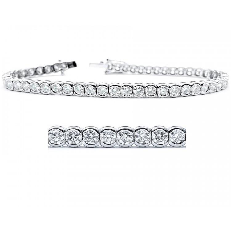 Pulsera Riviere Diamantes - RB 6