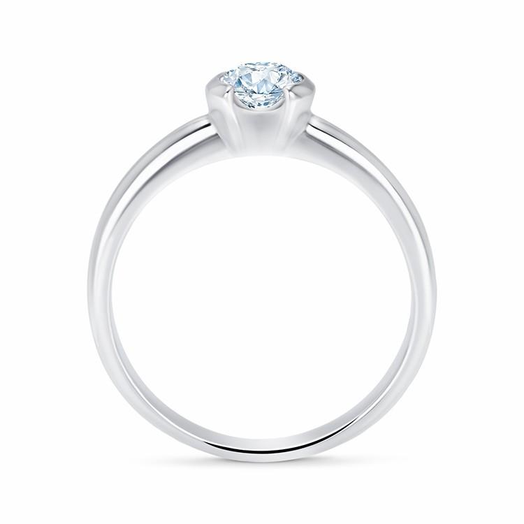 """Anillo """"Antic"""" oro y diamante 0.30 Cts."""