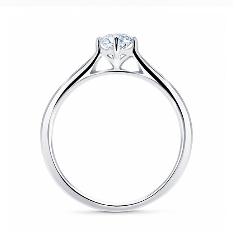 """Solitario """"Glow S"""" 0.15 cts Oro 18K con diamante"""