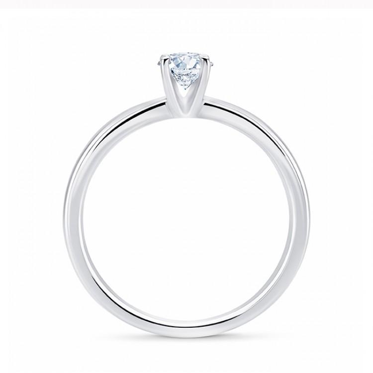 """Solitario """"Viena S"""" Oro 18k y Diamante"""