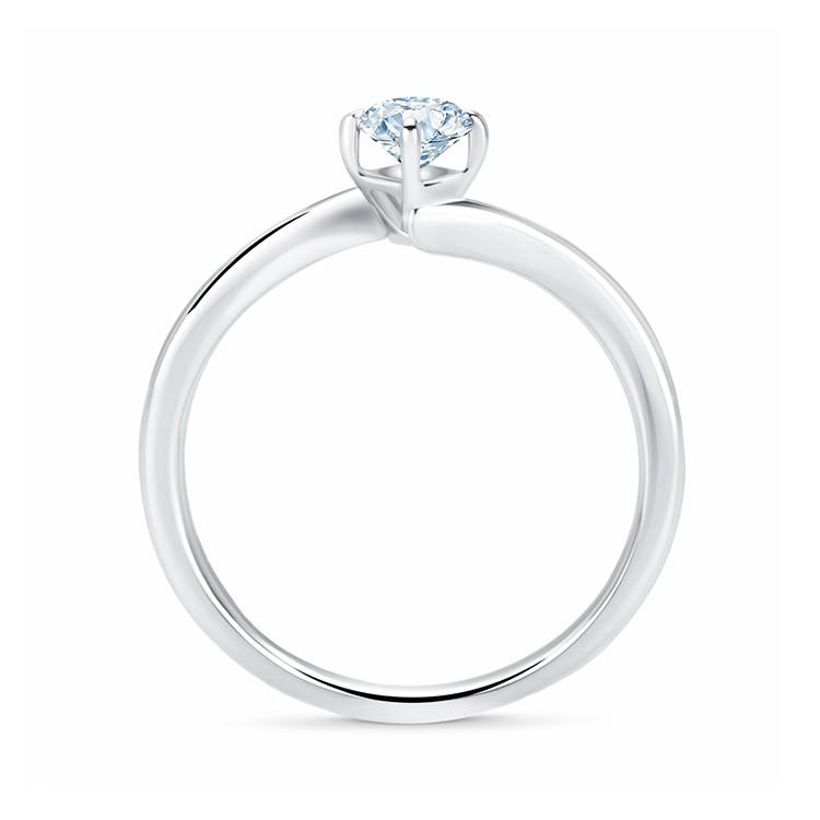 Solitario oro blanco diamante LESATH - SR 59