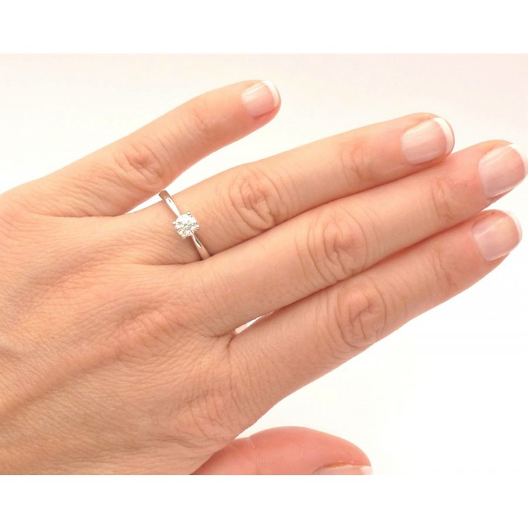 Anillo Solitario Diamante VERONA - SR 20