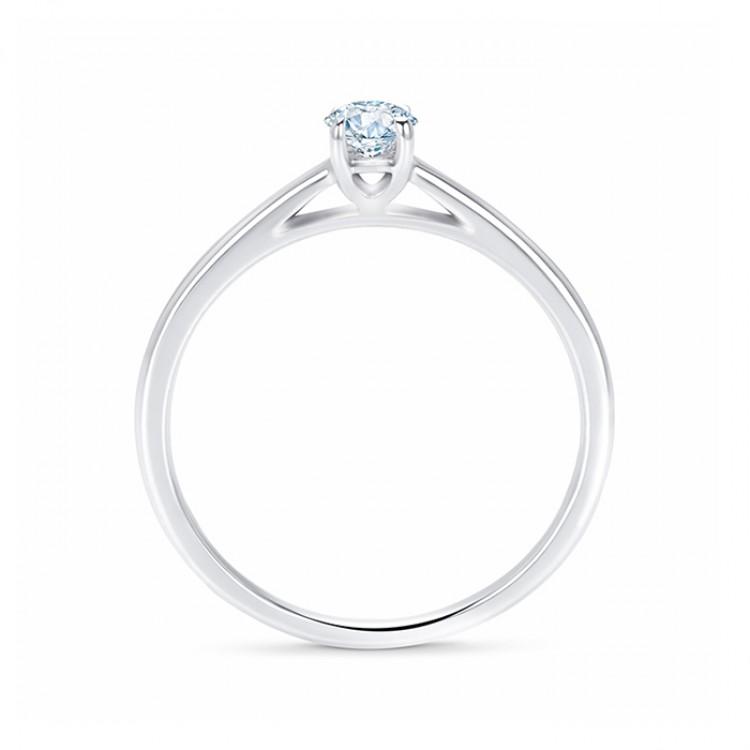 Anillo Clásico con Diamante SR 34 PT Platino