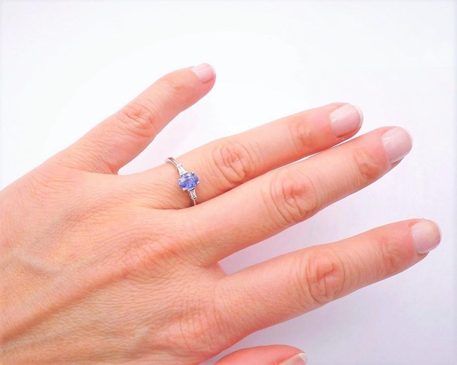 Anillo de Zafiro - BLUE FLORIDA