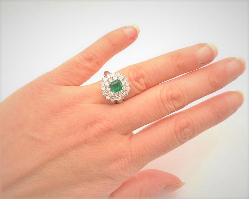 anillo esmeralda pedida d emano