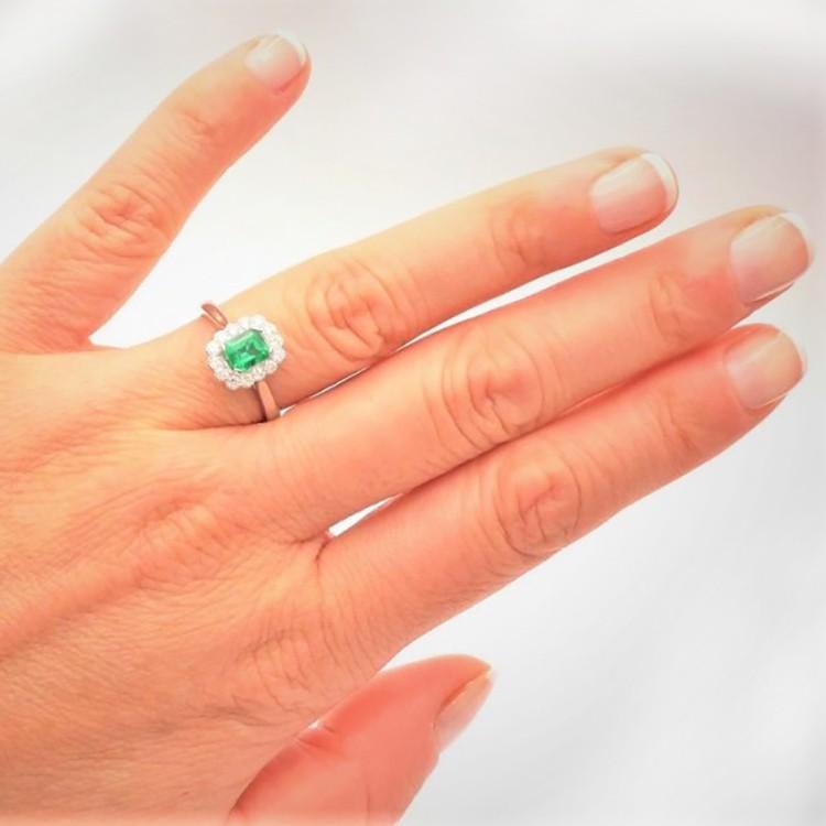 anillo esmeralda kaori mano