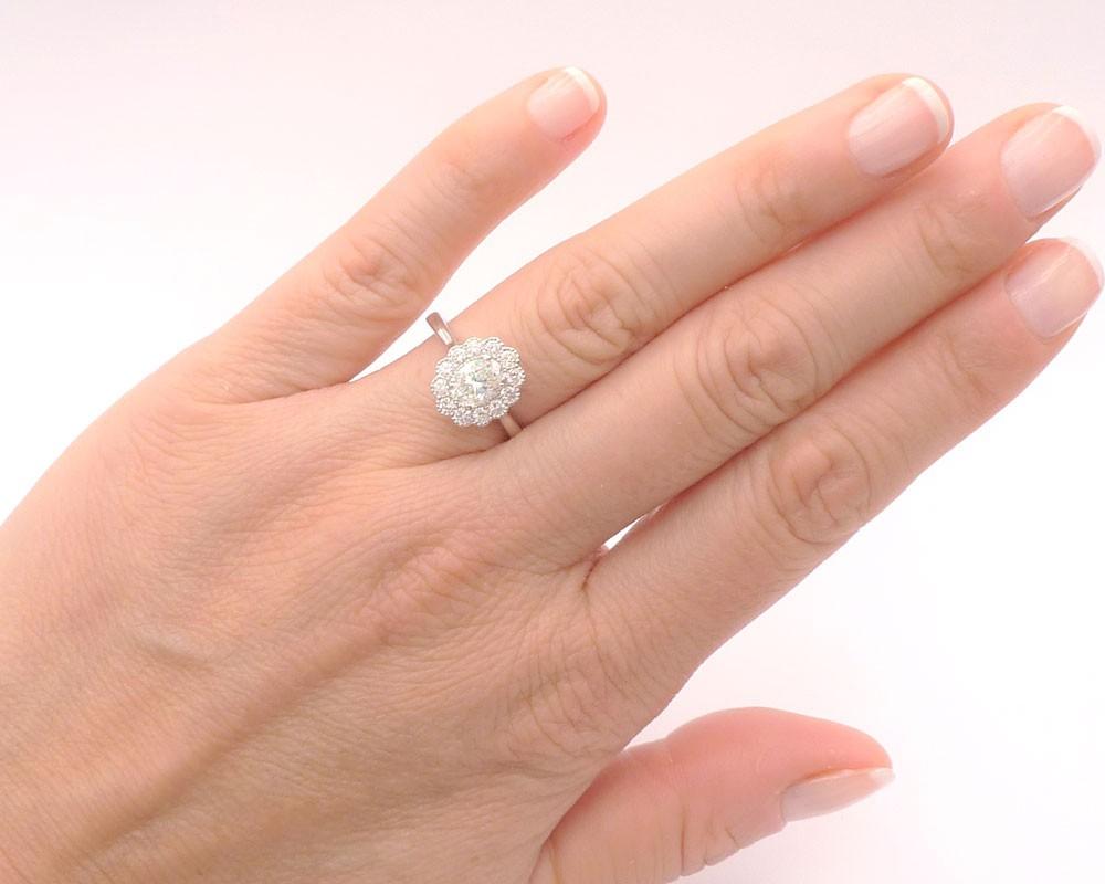 Anillo Diamante Oval mano - OSAKA