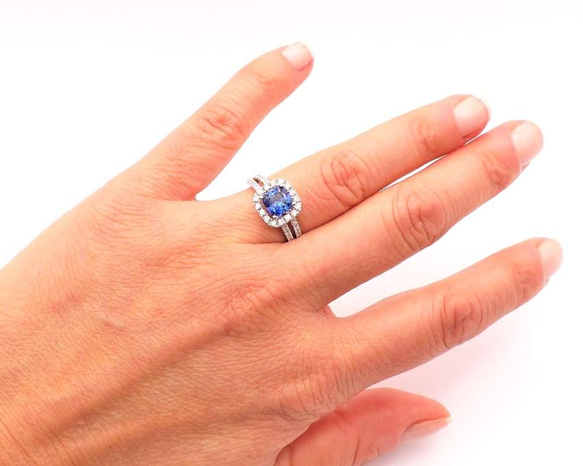 anillo zafiro ceilan