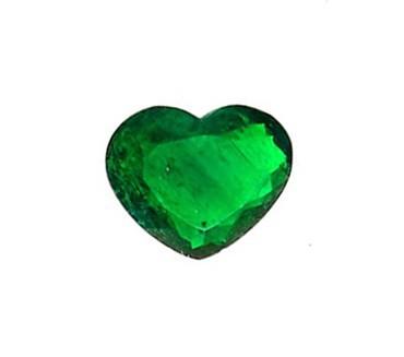 esmeralda corazón